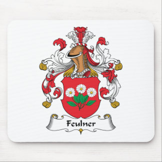 Escudo de la familia de Feulner Tapete De Ratón