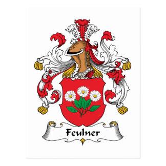 Escudo de la familia de Feulner Postal