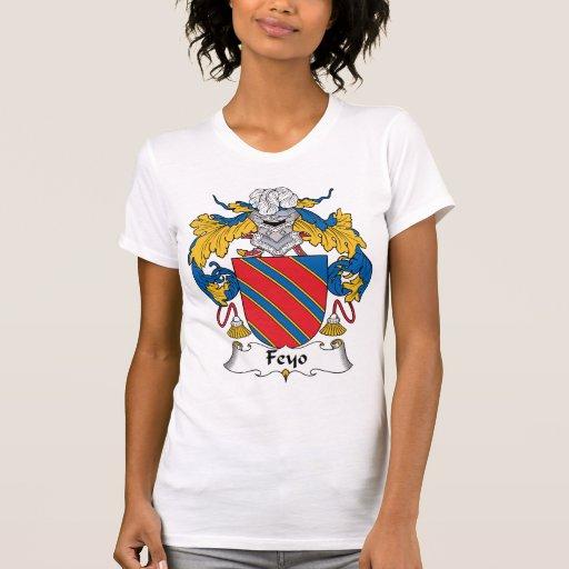 Escudo de la familia de Feyo Camisetas