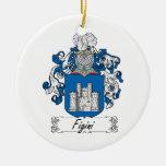 Escudo de la familia de Figini Adorno De Reyes