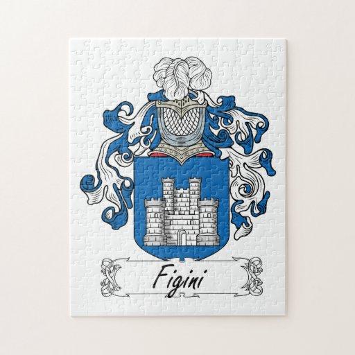 Escudo de la familia de Figini Rompecabezas