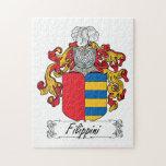 Escudo de la familia de Filippini Puzzle