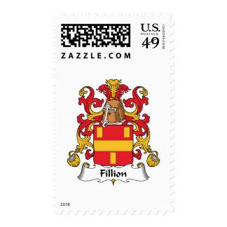 Escudo de la familia de Fillion Sellos
