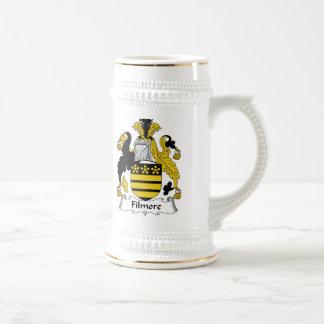 Escudo de la familia de Filmore Tazas De Café