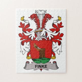 Escudo de la familia de Finke Rompecabeza Con Fotos