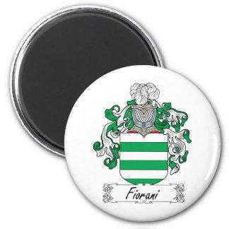 Escudo de la familia de Fiorani Imán Redondo 5 Cm
