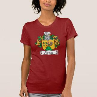 Escudo de la familia de Fiorenza Camisetas