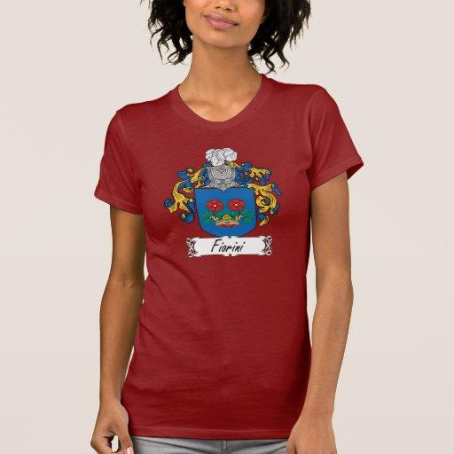 Escudo de la familia de Fiorini Camisetas