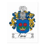 Escudo de la familia de Fiorini Postal