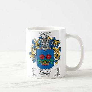 Escudo de la familia de Fiorini Tazas De Café