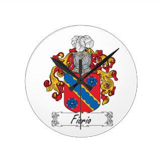 Escudo de la familia de Fiorio Relojes