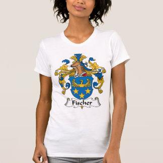 Escudo de la familia de Fischer Tee Shirts