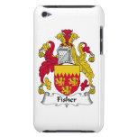 Escudo de la familia de Fisher iPod Touch Case-Mate Cárcasas
