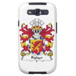 Escudo de la familia de Fisher Galaxy S3 Protectores