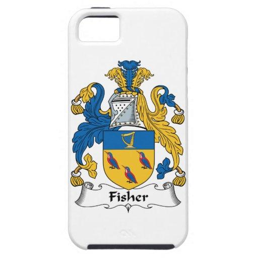 Escudo de la familia de Fisher Funda Para iPhone 5 Tough