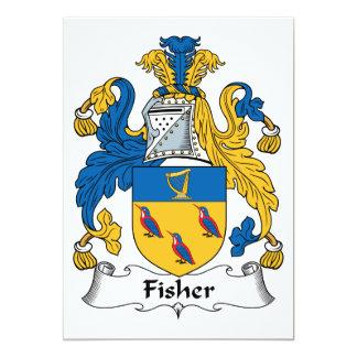 Escudo de la familia de Fisher Comunicados Personales