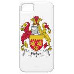 Escudo de la familia de Fisher iPhone 5 Cárcasas
