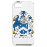 Escudo de la familia de Fisher iPhone 5 Cobertura