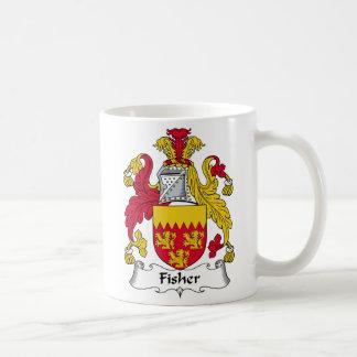 Escudo de la familia de Fisher Taza