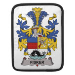 Escudo de la familia de Fisker Fundas Para iPads