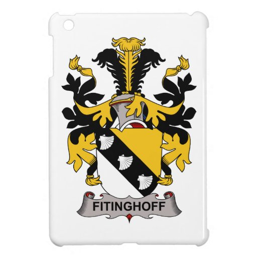Escudo de la familia de Fitinghoff iPad Mini Cobertura