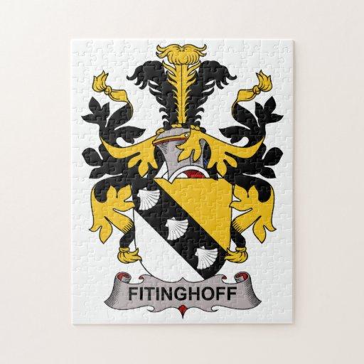 Escudo de la familia de Fitinghoff Rompecabezas Con Fotos