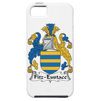 Escudo de la familia de Fitz-Eustace iPhone 5 Case-Mate Fundas