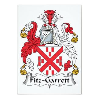 Escudo de la familia de Fitz-Garrett Comunicados Personalizados