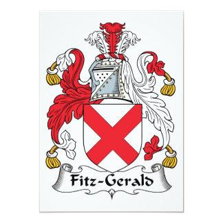 Escudo de la familia de Fitz-Gerald Comunicados