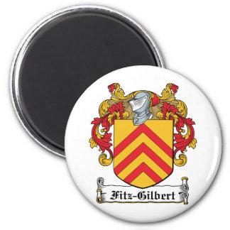 Escudo de la familia de Fitz-Gilbert Imán Redondo 5 Cm