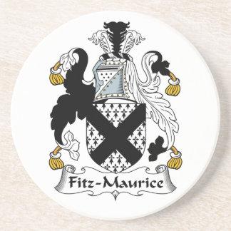 Escudo de la familia de Fitz-Mauricio Posavasos Diseño