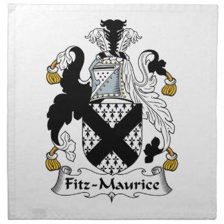 Escudo de la familia de Fitz-Mauricio Servilleta De Papel