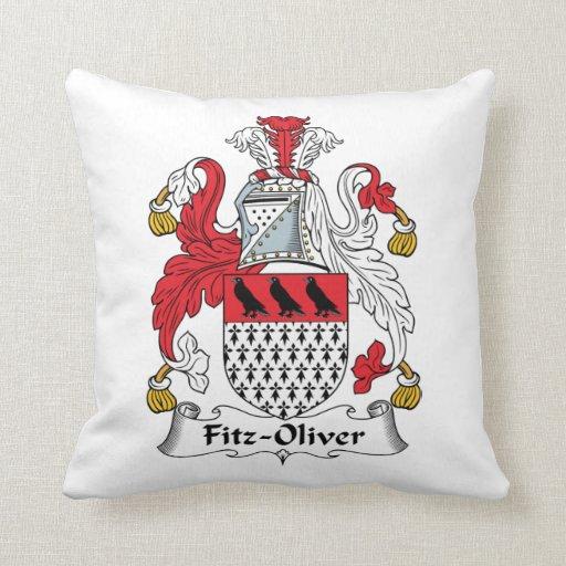 Escudo de la familia de Fitz-Oliverio Almohadas