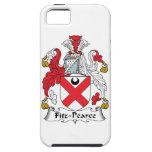 Escudo de la familia de Fitz-Pearce iPhone 5 Case-Mate Funda