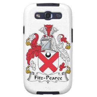 Escudo de la familia de Fitz-Pearce Galaxy SIII Cárcasa