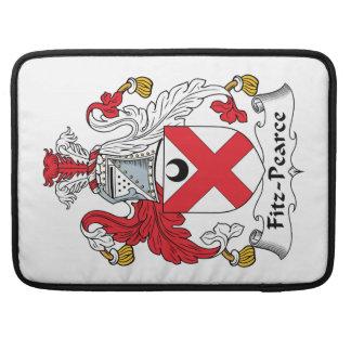 Escudo de la familia de Fitz-Pearce Funda Macbook Pro