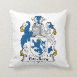 Escudo de la familia de Fitz-Rery Cojines