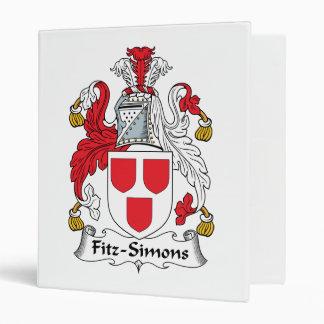 Escudo de la familia de Fitz-Simons
