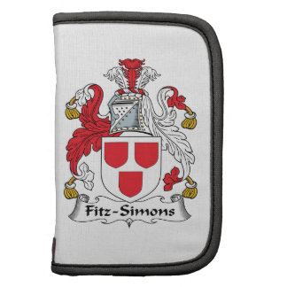 Escudo de la familia de Fitz-Simons Organizador