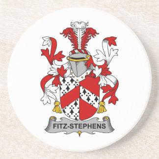 Escudo de la familia de Fitz-Stephens Posavasos Personalizados