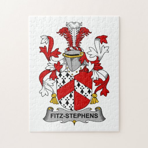 Escudo de la familia de Fitz-Stephens Puzzle