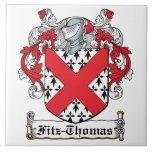 Escudo de la familia de Fitz-Thomas Tejas