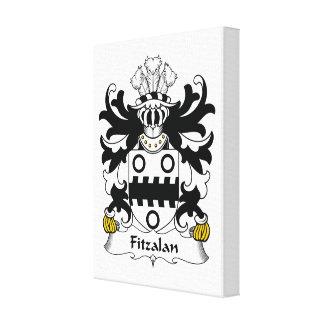 Escudo de la familia de Fitzalan Impresiones De Lienzo