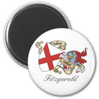 Escudo de la familia de Fitzgerald Imanes De Nevera