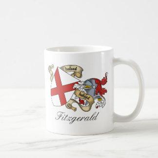 Escudo de la familia de Fitzgerald Taza