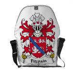 Escudo de la familia de Fitzpain Bolsa Messenger