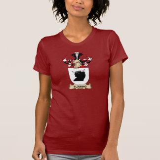 Escudo de la familia de Fläming Camisetas
