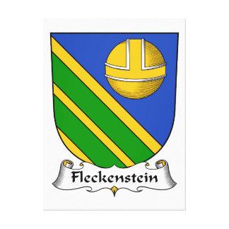 Escudo de la familia de Fleckenstein Lona Estirada Galerías