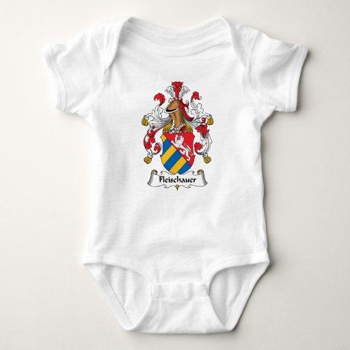 Escudo de la familia de Fleischauer Camiseta