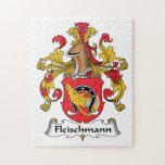 Escudo de la familia de Fleischmann Rompecabeza